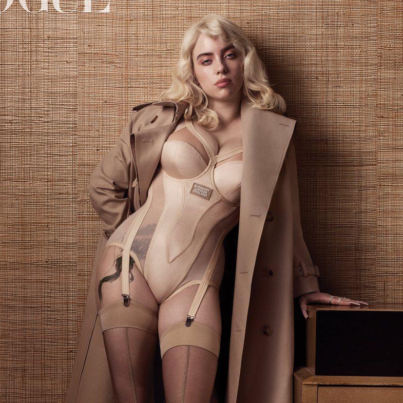 Në Vogue, Billie Eilish zbuloi dhe tatuazhin për të cilin u betua