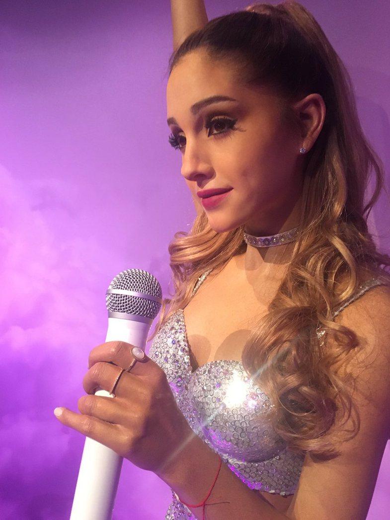 Njerëzit thonë se 'figura prej dylli e Ariana Grande-s duket