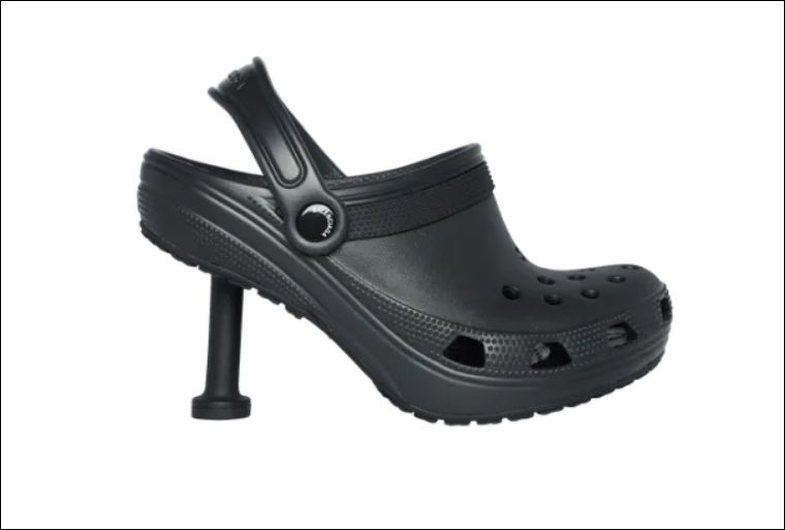 Balenciaga i shndërroi Crocs në stiletto: Rezultati është