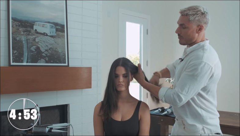 Parukieri i VIP-ave tregon trukun për t'i stiluar flokët si Dua