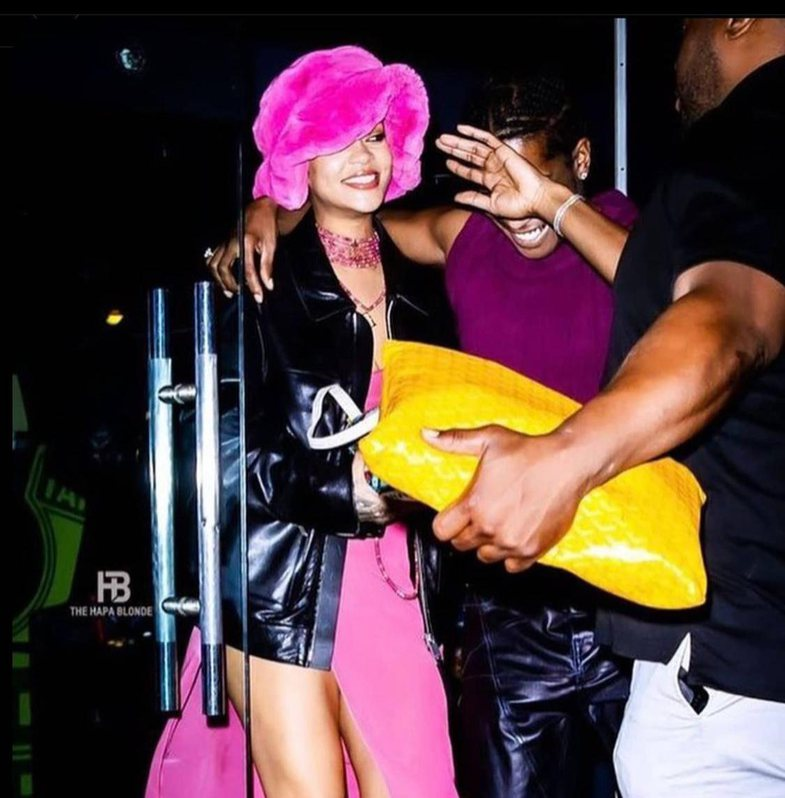 Viral video: Rihanna and A $ AP Rocky are barred from entering the club