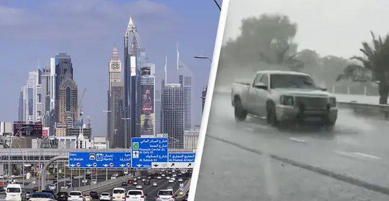 Dubai krijoi shi të rremë për të përballuar të