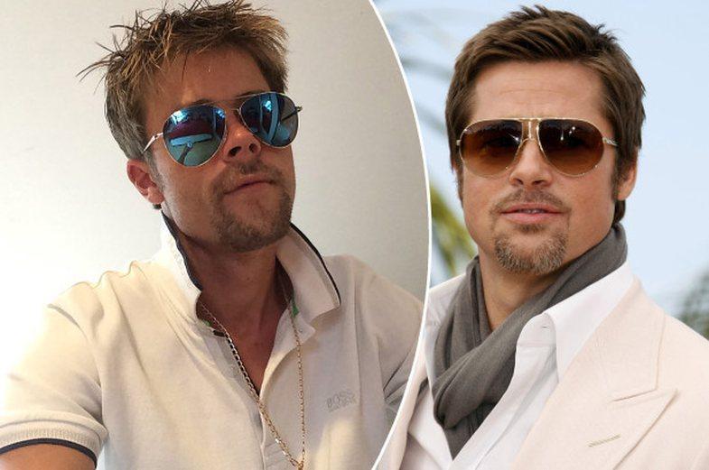 Dikush tregon peripecitë që kalon thjesht se ngjan me Brad Pitt