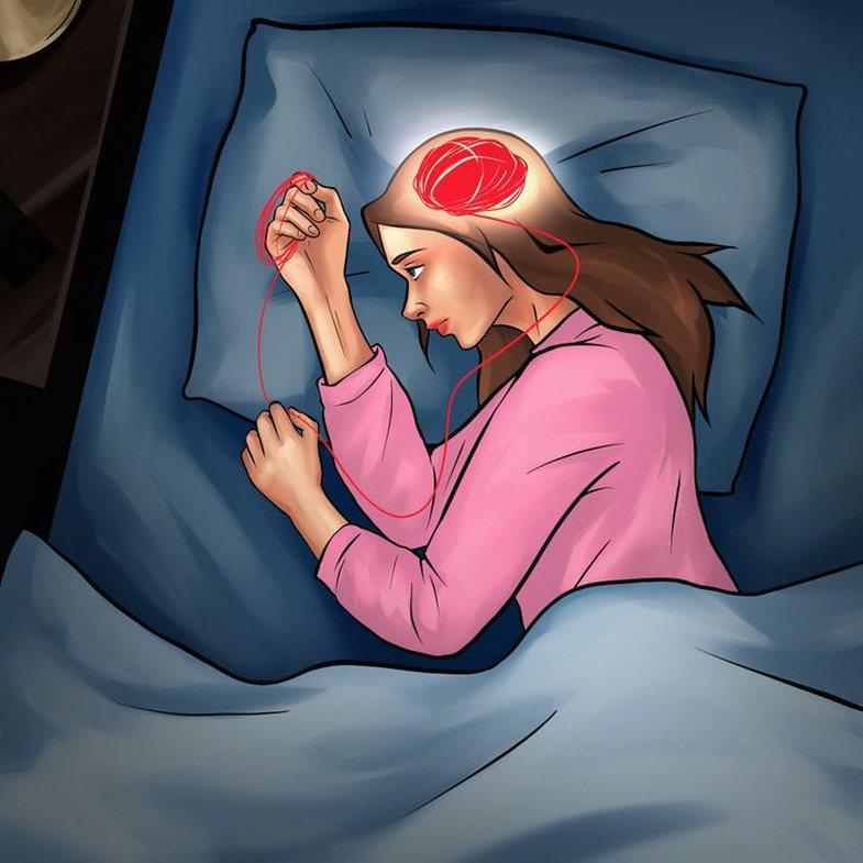 Si t'i ndaloni 1001 mendimet para gjumi, që nuk ju lënë