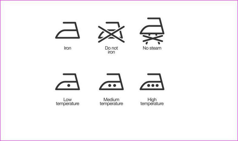 Çfarë kuptimi kanë simbolet në etiketën e rrobave