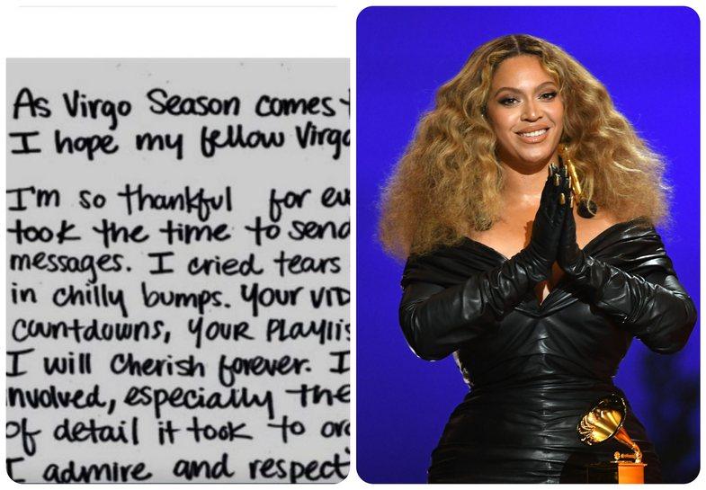 Beyoncé reflekton për 40-vjetorin në një letër
