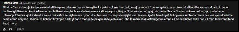 E krahasuan me Elvanën: Elhaida Dani u përgjigjet komenteve