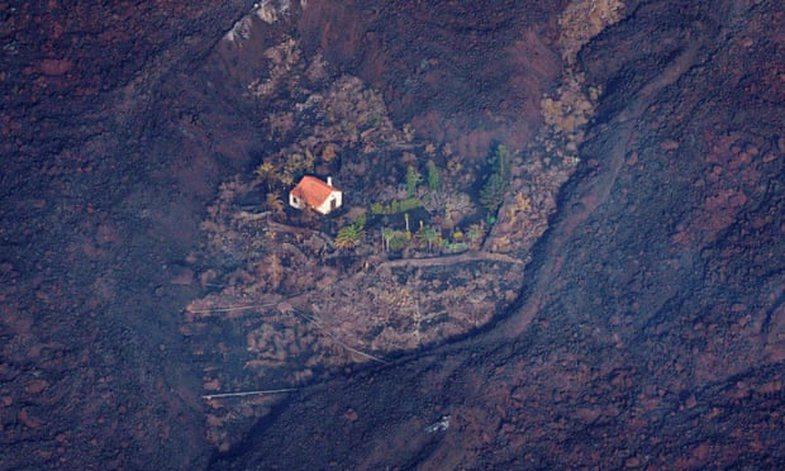 Shpërthimi i vullkanit: Shihni 'shtëpinë e