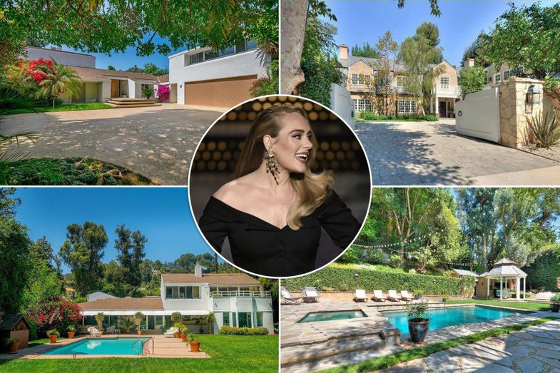 Adele u zhvendos në LA sepse 's'mund të përballonte